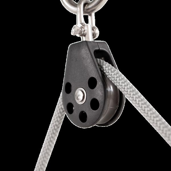 Seilrolle Profi für Seile 3 - 8 mm