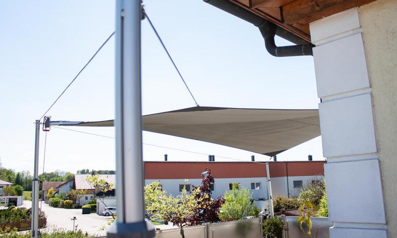 große Auswahl an Designs Einzelhandelspreise Kostenloser Versand Aufrollbares Sonnensegel | Easy2Shade